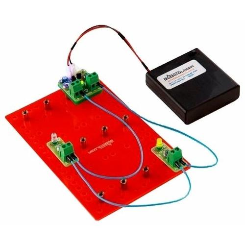 Электронный конструктор Robotologia Первые шаги в схемотехнике