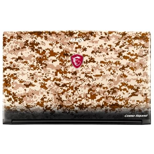 Ноутбук MSI GE62 7RE Camo Squad Limited Edition