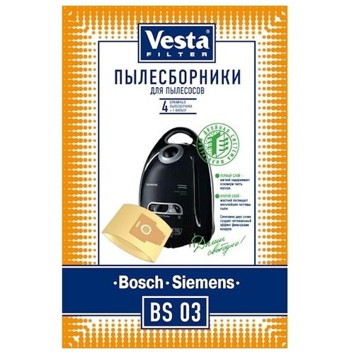Vesta filter Бумажные пылесборники BS 03