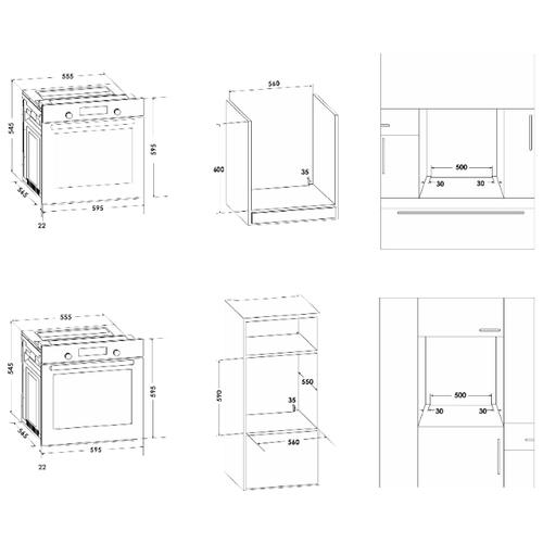 Электрический духовой шкаф Schaub Lorenz SLB EB6660