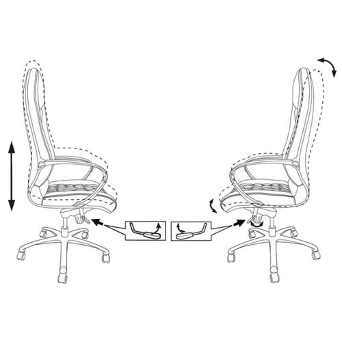 Компьютерное кресло Бюрократ _Aura