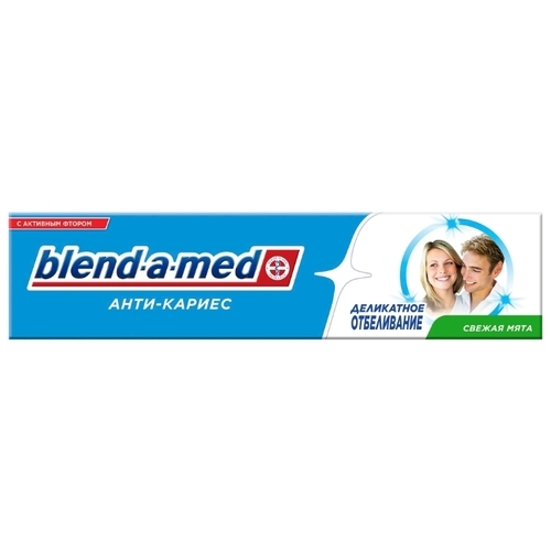 Зубная паста Blend-a-med Деликатное отбеливание, мята