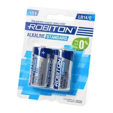 Батарейка ROBITON Alkaline Standart LR14/C