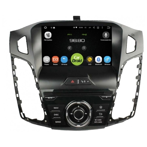 Автомагнитола ROXIMO CarDroid RD-1701D Ford Focus 3 (Android 8.0)