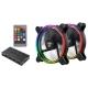 Система охлаждения для корпуса Enermax T.B.RGB 14cm 2 Fan Pack (UCTBRGB14-BP2)