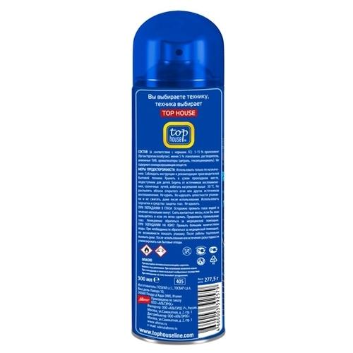 Очиститель-аэрозоль для плит, духовок и СВЧ печей Top House