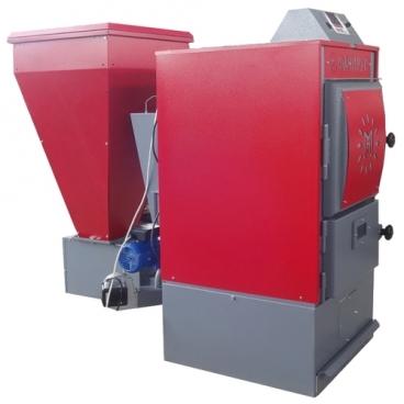 Твердотопливный котел FACI 34 пеллеты 34 кВт одноконтурный