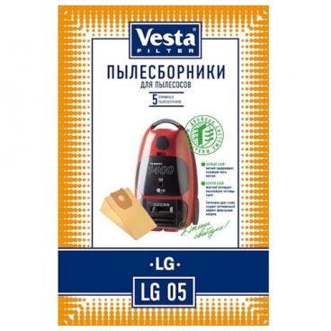 Vesta filter Бумажные пылесборники LG 05