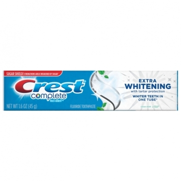 Зубная паста Crest Complete extra whitening, мята