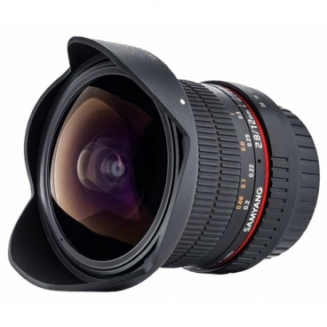 Объектив Samyang 12mm f/2.8 ED AS NCS Fish-eye Sony E""