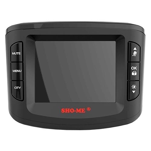 Видеорегистратор с радар-детектором SHO-ME Combo №5 А7