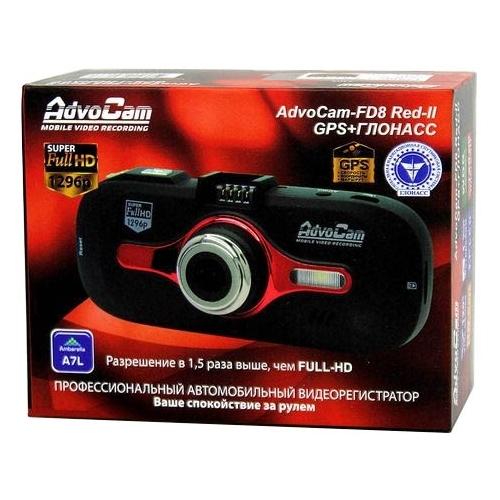 Видеорегистратор AdvoCam FD8 Red-II (GPS+ГЛОНАСС)