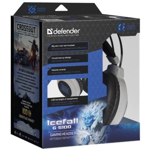 Компьютерная гарнитура Defender Icefall G-510D