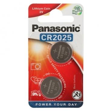 Батарейка Panasonic Lithium Coin CR2025