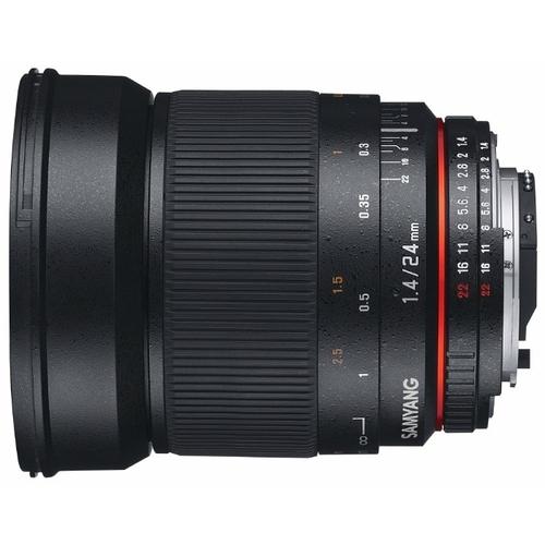 Объектив Samyang 24mm f/1.4 ED AS UMC Samsung NX