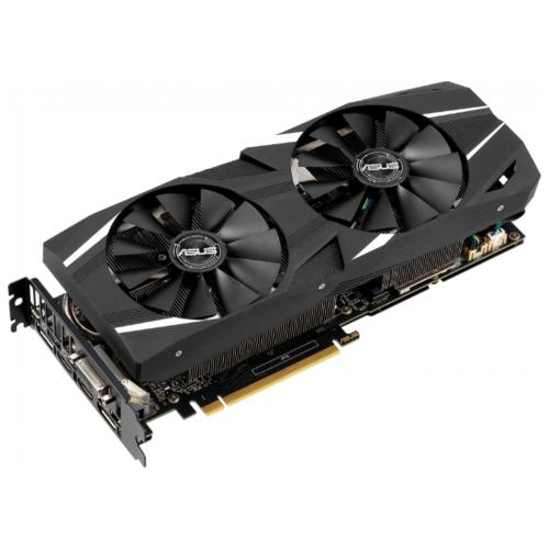 Видеокарта ASUS GeForce RTX 2060 1365MHz PCI-E 3.0 6144MB 14000MHz 192 bit DVI 2xHDMI HDCP DUAL Advanced