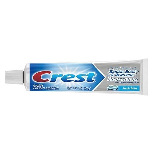 Зубная паста Crest Baking soda & peroxide whitening, мята