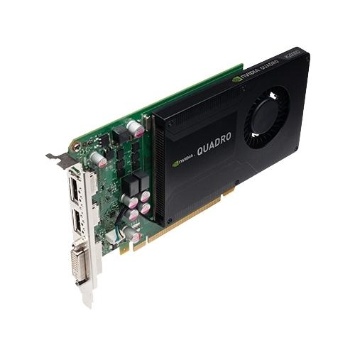 Видеокарта PNY Quadro K2000 PCI-E 2.0 2048Mb 128 bit DVI