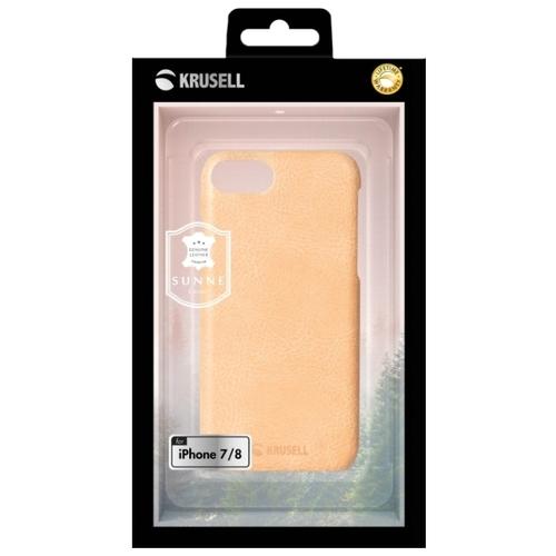 Чехол Krusell Sunne Cover для Apple iPhone 7/iPhone 8, кожаный