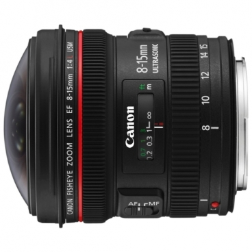 Объектив Canon EF 8-15mm f/4.0L Fisheye USM""