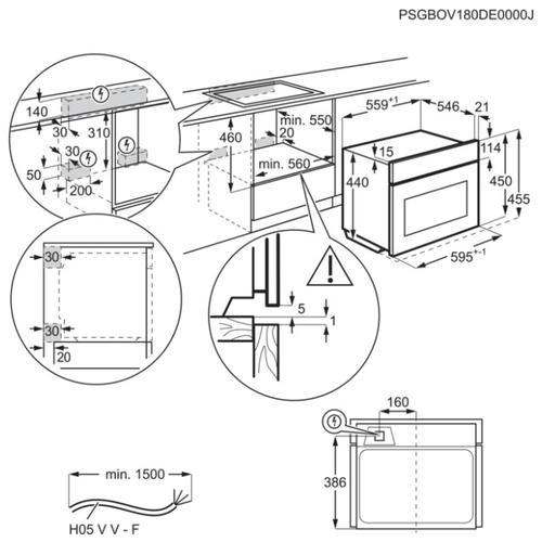 Электрический духовой шкаф Electrolux EVY 7800 ZOZ
