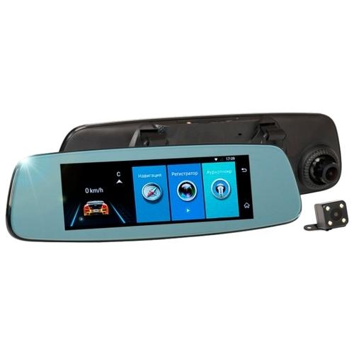 Видеорегистратор RECXON AutoSmart GPS, 2 камеры, GPS