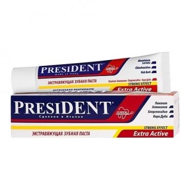 Зубная паста PresiDENT Extra Active