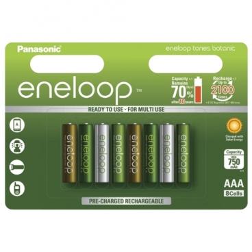 Аккумулятор Ni-Mh 750 мА·ч Panasonic eneloop tones botanic AAA
