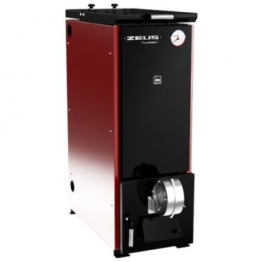 Твердотопливный котел Термокрафт Zeus Turbo 22-30 30 кВт одноконтурный