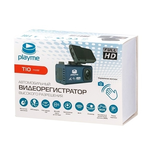 Видеорегистратор Playme TIO, GPS