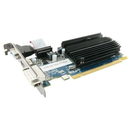 Видеокарта Sapphire Radeon HD 6450 625MHz PCI-E 2.1 1024MB 1334MHz 64 bit DVI HDMI HDCP