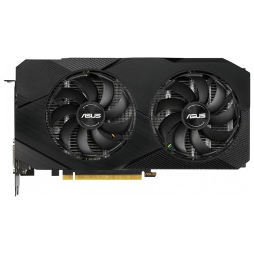 Видеокарта ASUS DUAL GeForce RTX 2060 1365MHz PCI-E 3.0 6144MB 14000MHz 192 bit DVI DisplayPort 2xHDMI HDCP EVO Advanced
