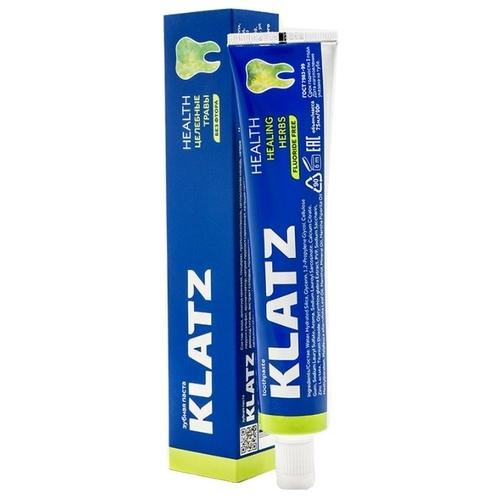 Зубная паста Klatz Health Целебные травы без фтора