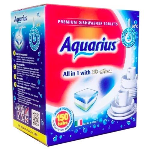 AQUARIUS All in 1 таблетки для посудомоечной машины