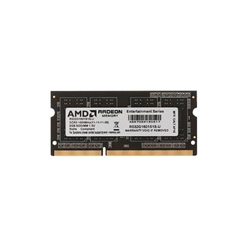 Оперативная память 2 ГБ 1 шт. AMD R532G1601S1S-U