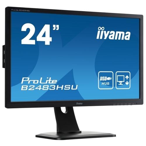 Монитор Iiyama ProLite B2483HSU-B1