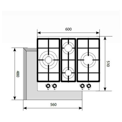 Варочная панель LEX GVG 643C IV