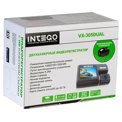Видеорегистратор Intego VX-305DUAL