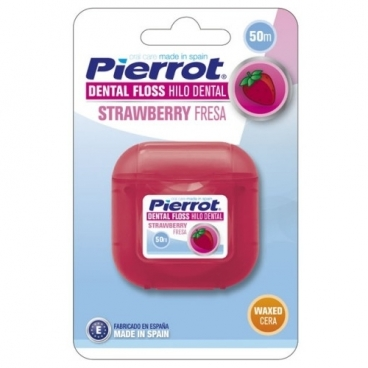 Pierrot зубная нить Strawberry dental floss