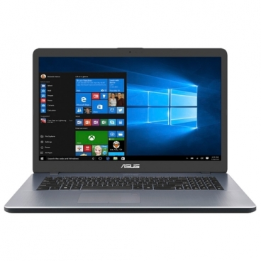 "Ноутбук ASUS Vivobook 17 X705MB (Intel Pentium N5000 1100 MHz/17.3""/1600x900/4GB/1000GB HDD/DVD нет/NVIDIA GeForce MX110 2GB/Wi-Fi/Bluetooth/Windows 10 Home)"
