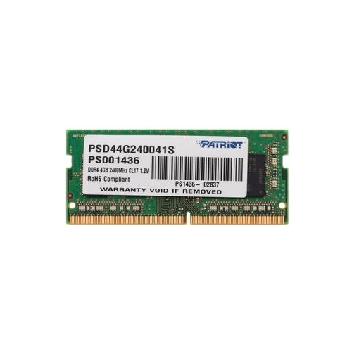 Оперативная память 4 ГБ 1 шт. Patriot Memory PSD44G240041S