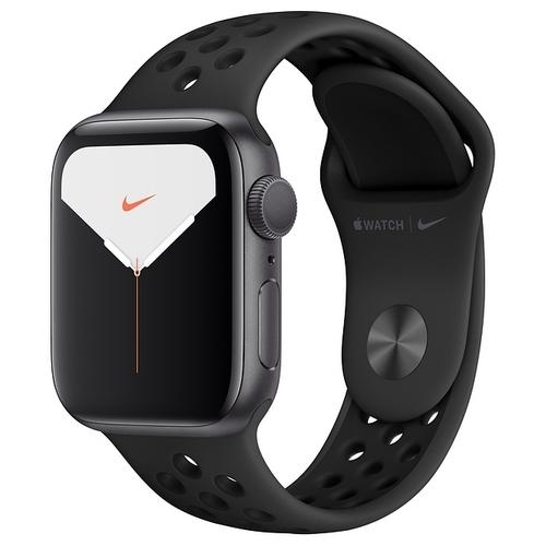 Часы Apple Watch Series 5 GPS 44mm Aluminum Case with Nike Sport Band