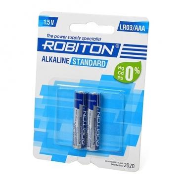 Батарейка ROBITON Alkaline Standart LR03/AAA