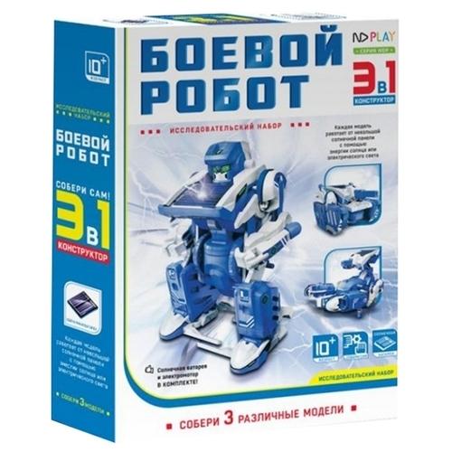 Электромеханический конструктор ND Play На солнечной энергии 265614 Боевой робот 3 в 1