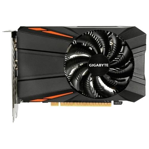 Видеокарта GIGABYTE GeForce GTX 1050 Ti 1290MHz PCI-E 3.0 4096MB 7008MHz 128 bit DVI HDMI DisplayPort HDCP