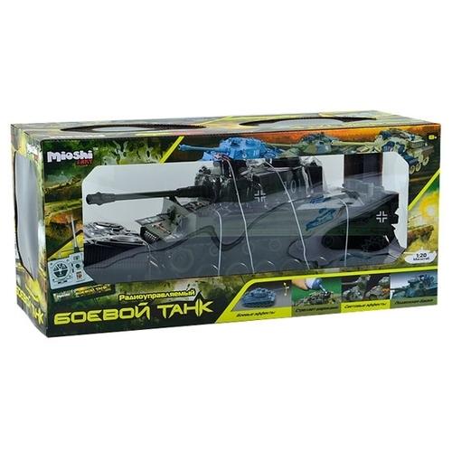Танк Mioshi Tech Тигр-MI (MAR1207-024) 1:20 54 см