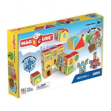 Магнитный конструктор GEOMAG Magicube 144-16 Замки и дома