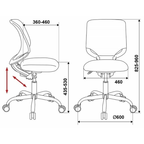 Компьютерное кресло Бюрократ KD-7
