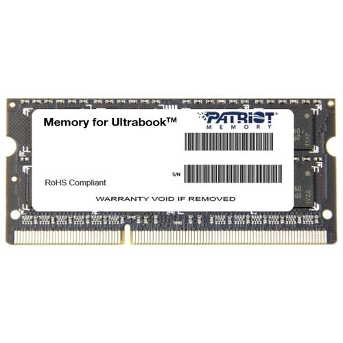 Оперативная память 4 ГБ 1 шт. Patriot Memory PSD34G1600L2S