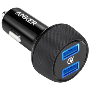 Автомобильная зарядка ANKER Power Drive Speed 2 Quick Charge